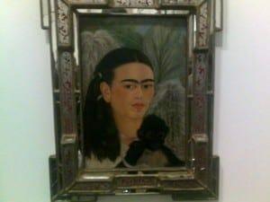 Auto retrato, Frida Kahlo, MoMA, NYC.