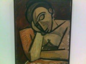 Escultura de Picasso, MoMa, NYC.