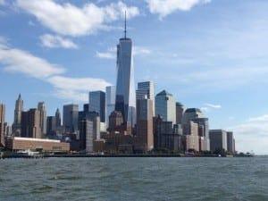 Com direita a essa vista, NYC.