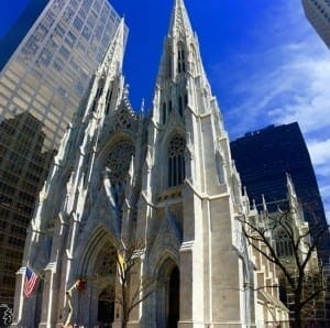 Saint Patrick's Cathedral, NYC.