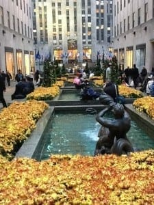 Rockefeller Center, NY.