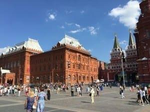 Praça Vermelha, Moscou, Rússia.