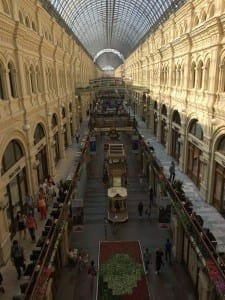 Shopping GUM, Moscou.