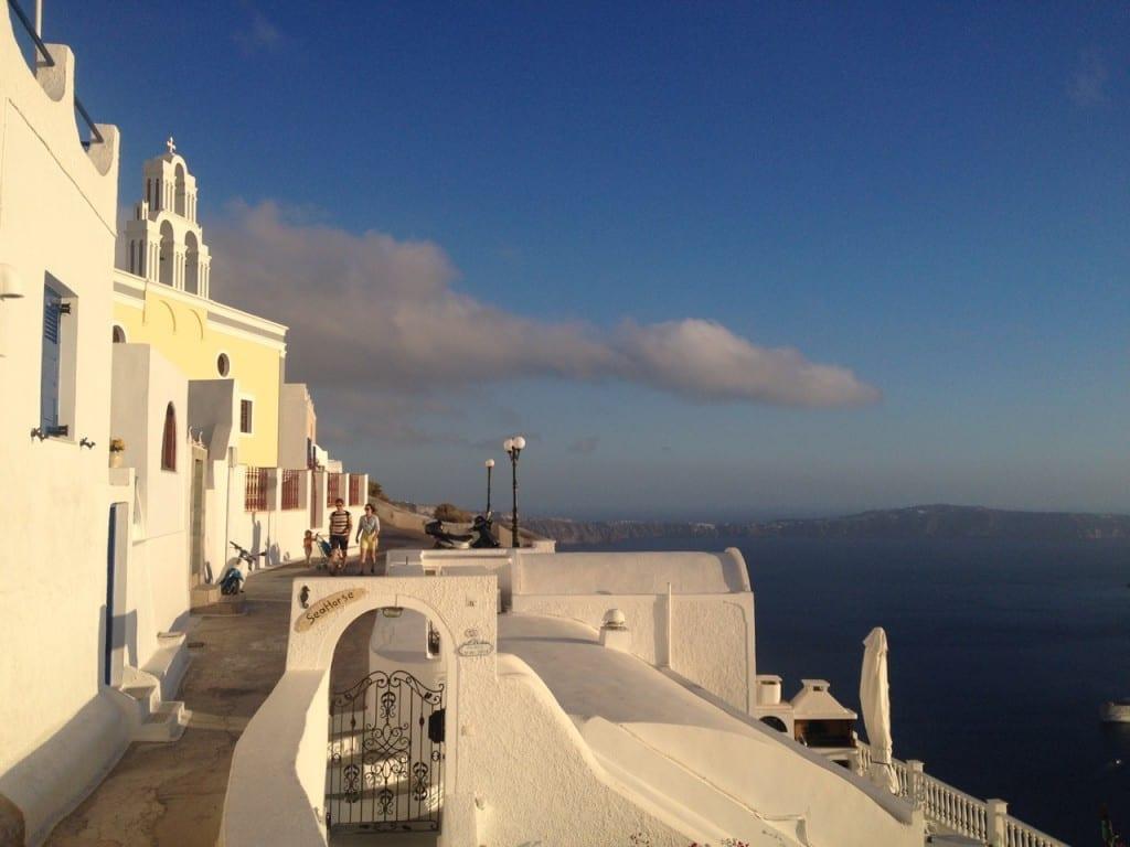 hacer en Santorini