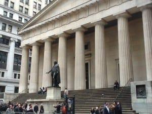 Wall Street, NY.