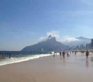Playa de Ipanema, Río.