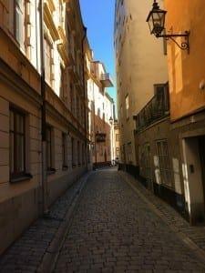 Una de las calles más antiguas de la ciudad.