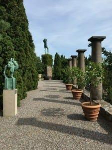 Milles Garden.