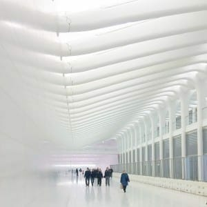 WTC West Concourse and Path.