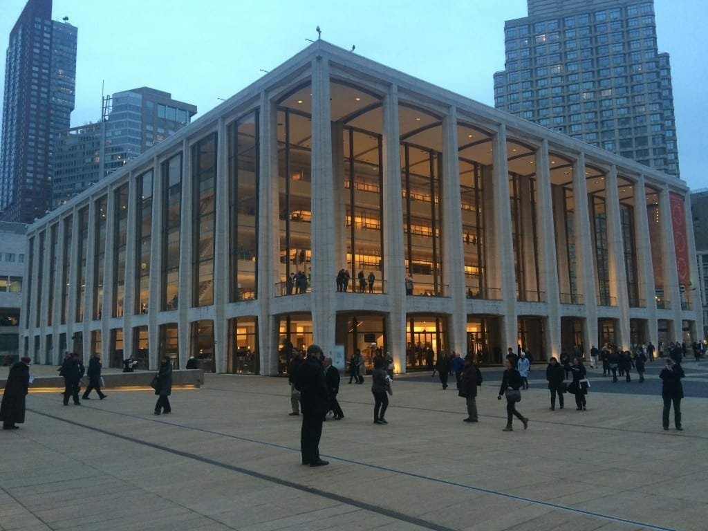 Lincoln Center, NYC.