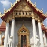 Templo de Mármore, Bangcoc, Tailândia.