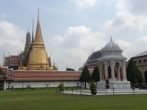 Grand Palace, the residence of the king of Saim