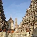 Wat Arun, Bangcoc, Tailândia.