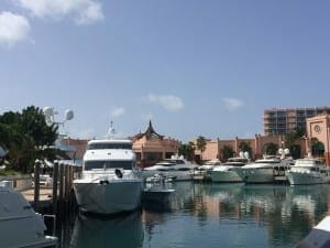 Marina Village in Paradise Island.