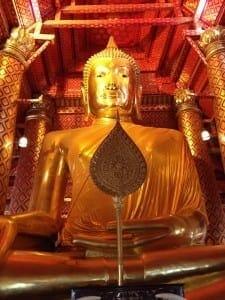 Buda Gigante, Ayutthaya, Tailândia