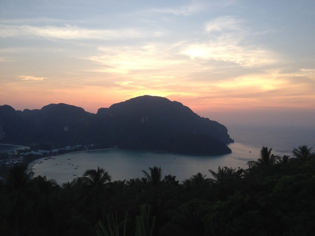Sunset, Koh Phi Phi Don, Thailand.