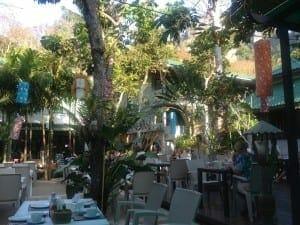 Meu hotel em Railay Beach West.
