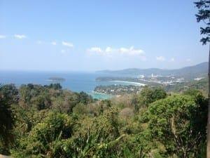 Mirante em Phuket, Tailândia.