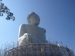 The Big Buddha, Phuket, Thailand.