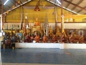 Templo Budista, Phuket, Tailândia.