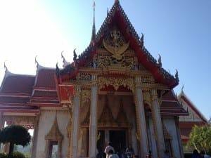 Templo Budista, Phuket, Tailandia.