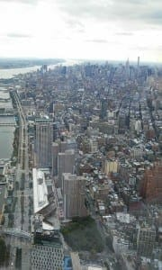 View from the WTC.