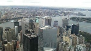 View from the WTC, NYC.