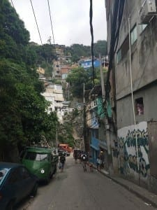 Favela do Vidigal, Río.