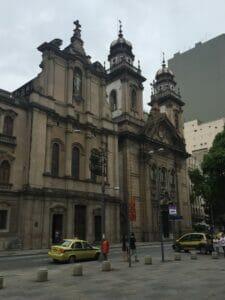 Igreja da Terceira Ordem do Carmo e Igreja do Carmo , downtown Rio.
