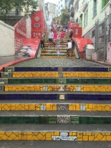 Escalera Sellaron, Río.