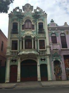 Linda arquitetura na Lapa, Rio.