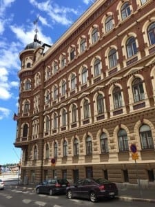 La hermosa architectura de Helsinki
