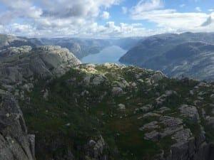 Caminata Preikestolen, Noruega