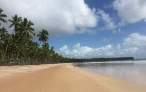 Boipeba beaches in Bahia South Coast