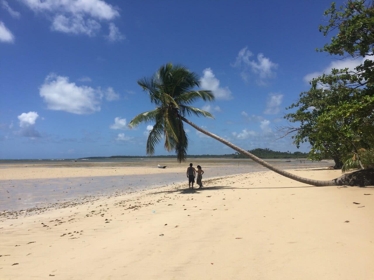 praias da bahia restaurantes em Boipeba
