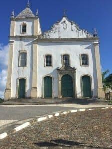 Igreja Nossa Senhora do Rosário construída en 1610.