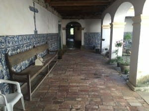 Monasterio de Santo Antônio, construidos en 1650. Esa es la primera iglesia barroca de Brasil.