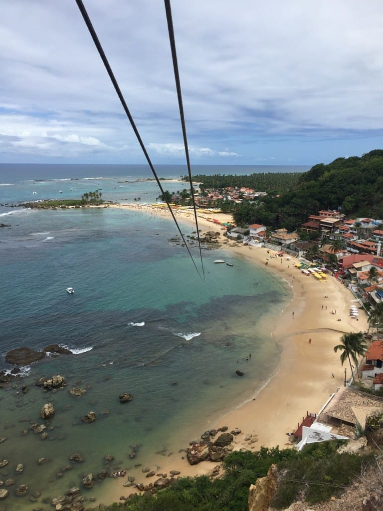 Zip-line in Bahia