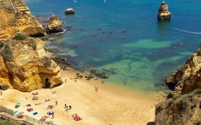Three Most Beautiful Beaches in Algarve, Portugal