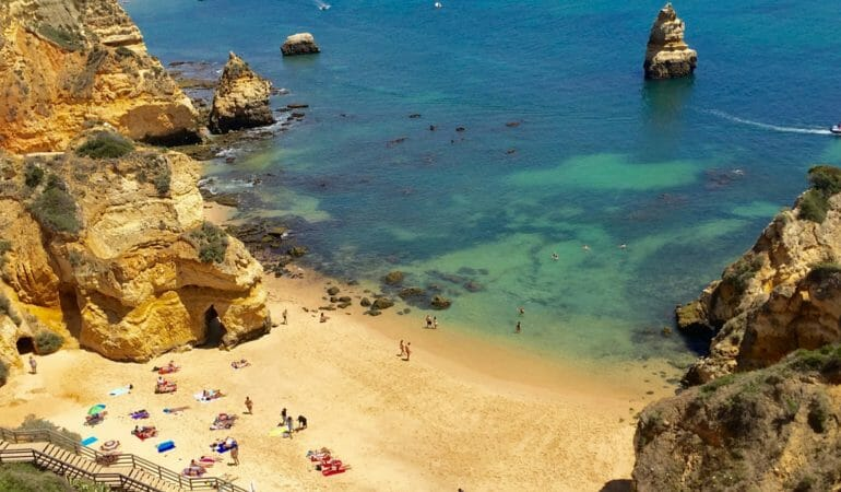 Three Most Beautiful Beaches in Algarve, Portugal