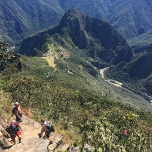 Machu Picchu sin gastar mucho. Machu Picchu Montaña