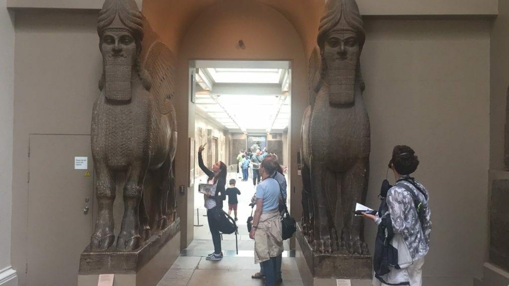 Egypt and Sudan Departments, British Museum, London