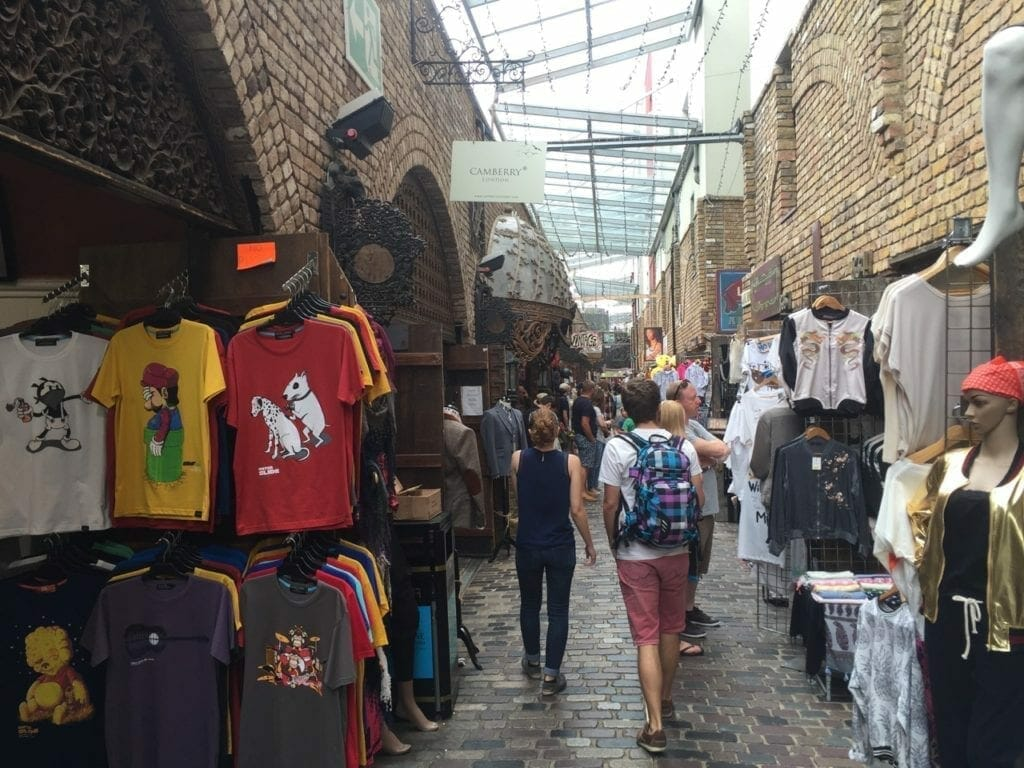Visiting Camden Market is one of the best things to do in London