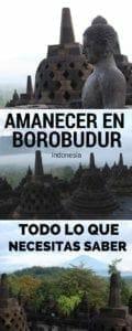 Borobudur: descubra porque el amanecer es la mejor hora para visitar el templo.
