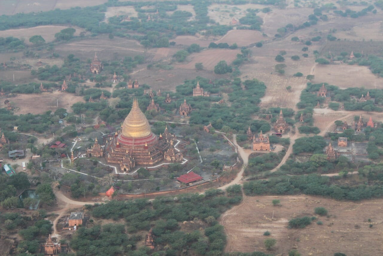 An unrivaled view of the ancient city of Bagan