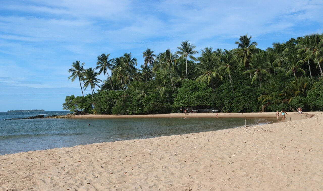 beaches in Bahia South Coast