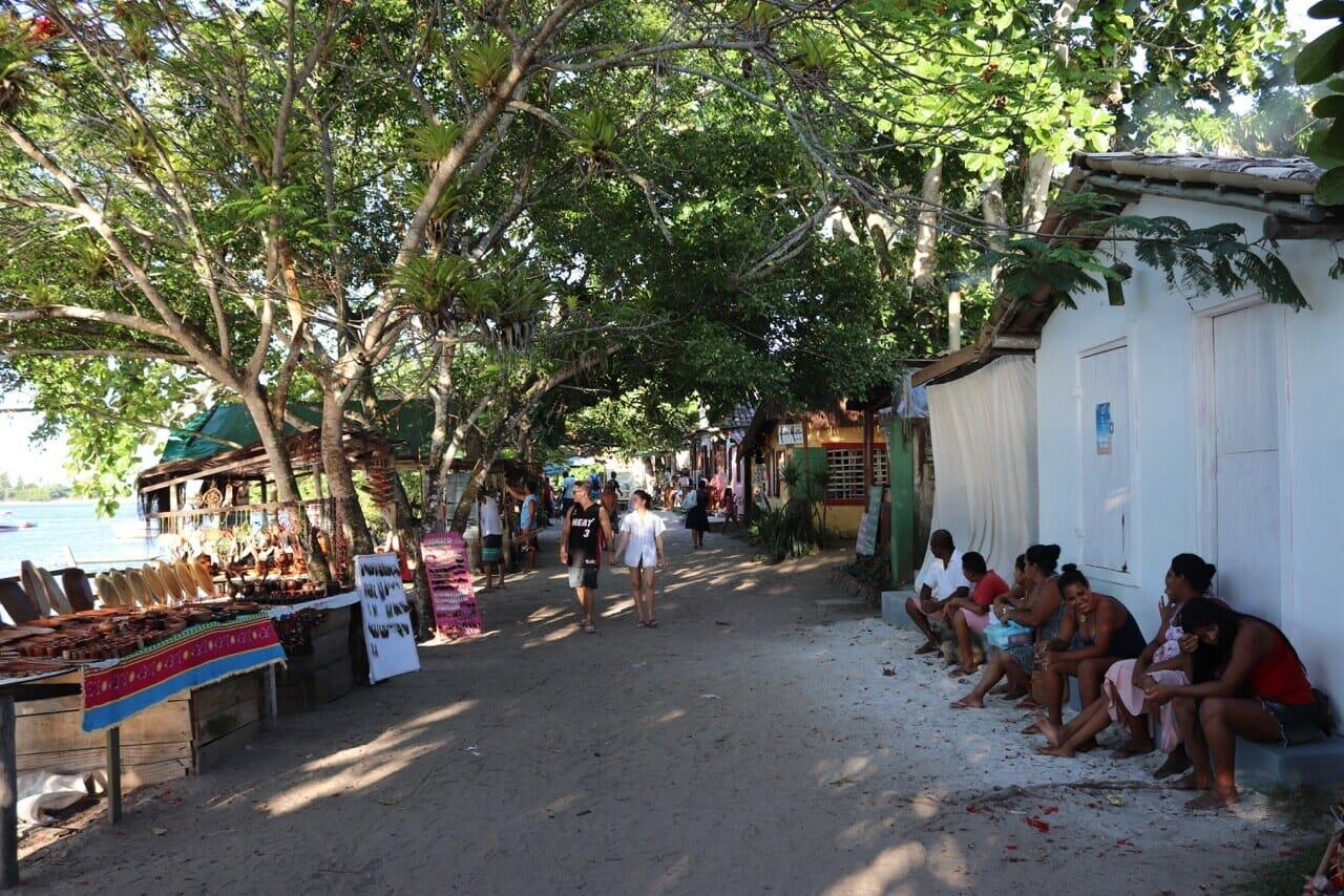 Caraíva, Litoral sul da Bahia, Brasil