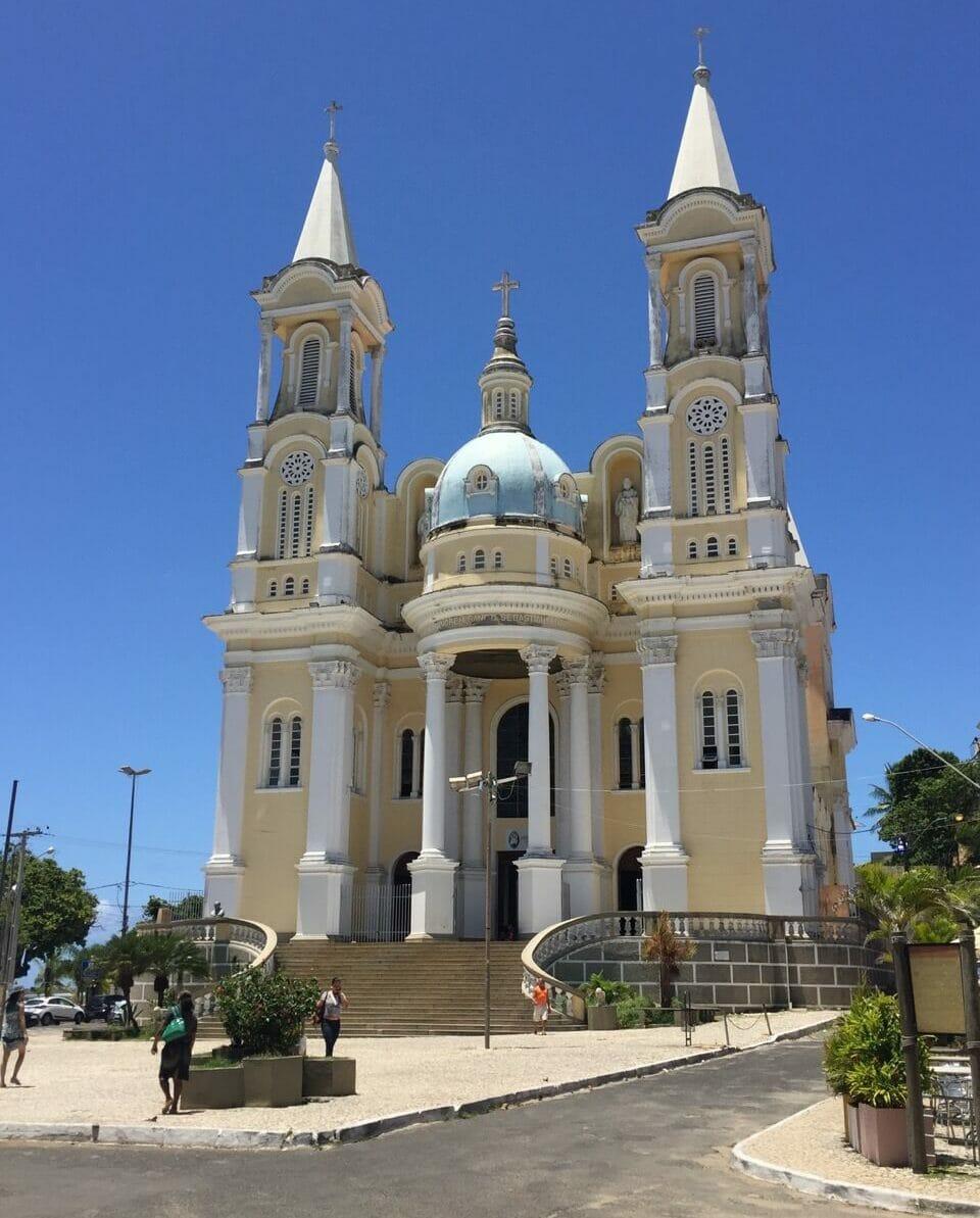 Catedral de São Sebastião, uma das igrejas mais bonitas do litoral sul baiano!