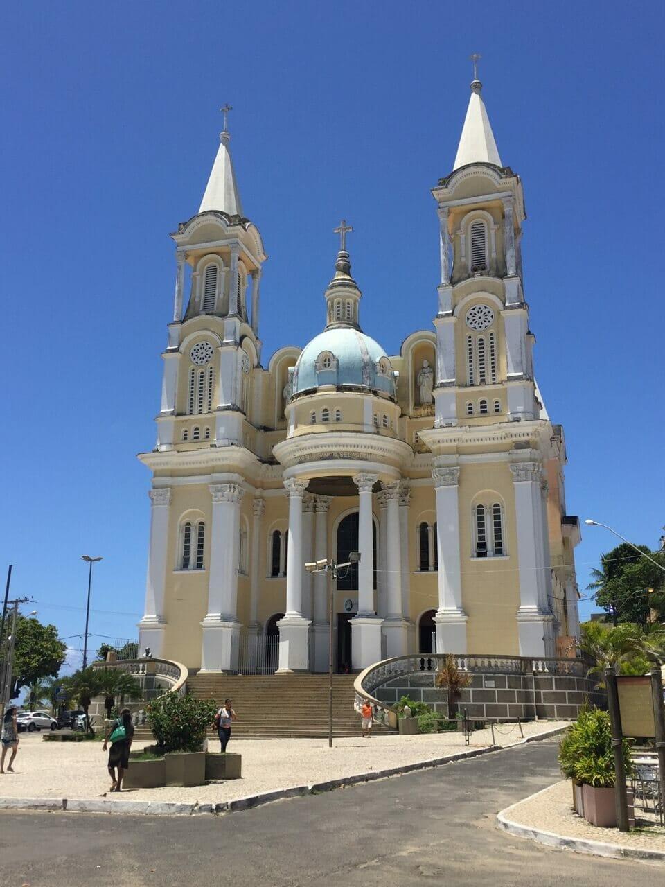 Una de las iglesias más bonitas de Bahia.