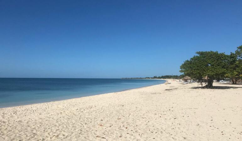 The perfect caribbean beach !
